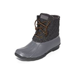 Sperry grey snow/rain booties
